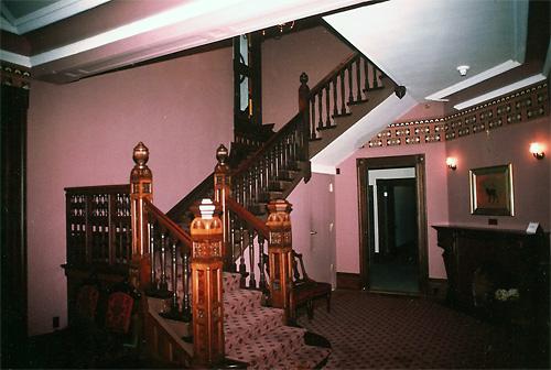 Marshall House Interior