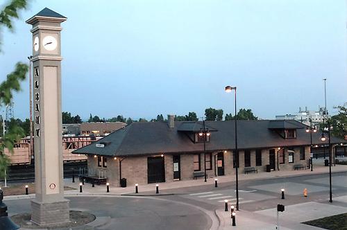 Albany Depot Exterior 1