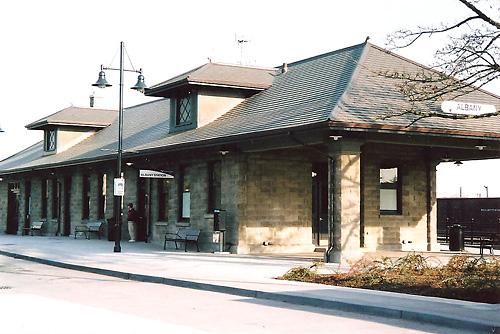 Albany Depot Exterior 2