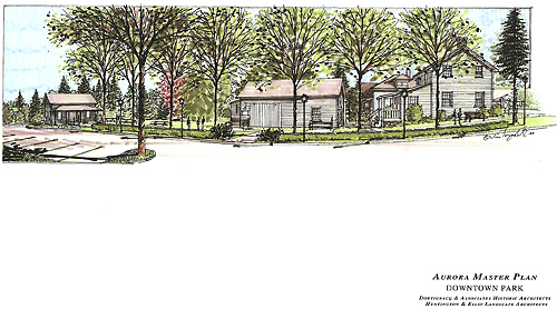 Aurora Master Plan Downtown Park