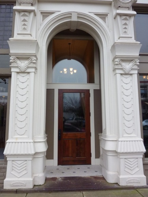 Restored Entry and Cast Iron