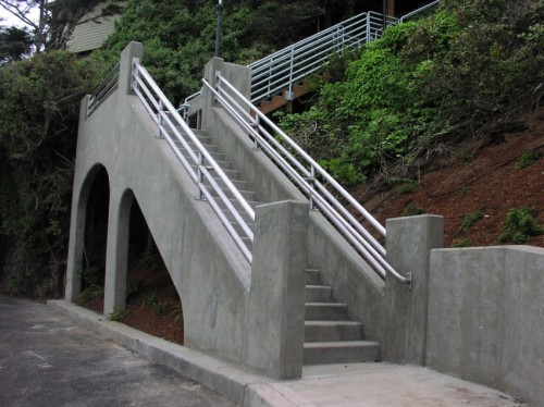 New Stair To The Upper Neighborhood